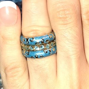 Lauren G Adams stack rings